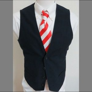 Sz S Navy Blue Calvin Klein Mens Cotton #06A Vest